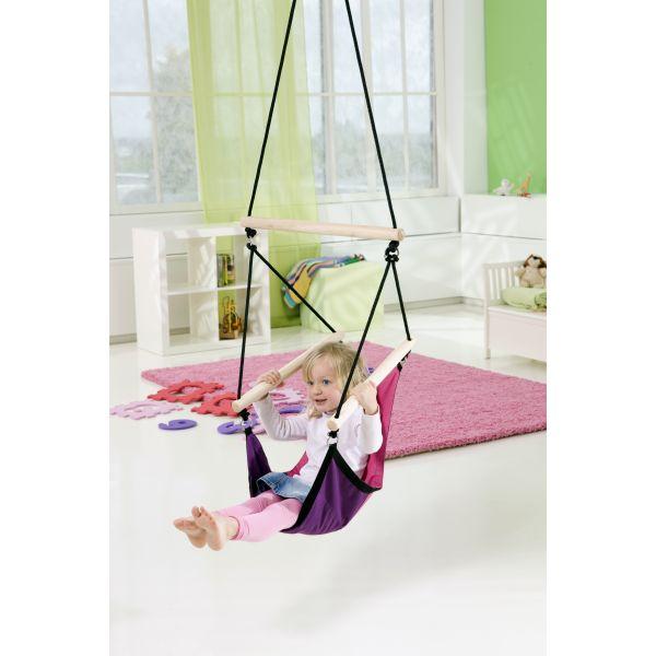 'Swinger' Pink Kinderhängesessel