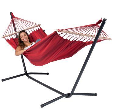 Easy & Relax Red Hängematte mit Gestell