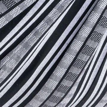 Comfort Black White Plaid